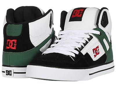 DC Pure High-Top WC (White/Green/Black) Men