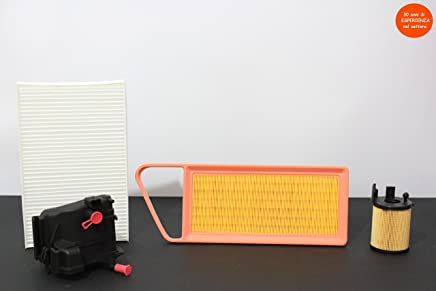 Kit filtros Tagliando Citroen C3 1.4 HDI 50 kW, 70 CV Motor Color 8HX de