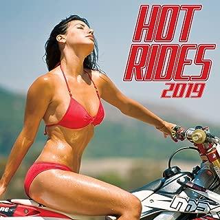 Hot Rides 2019 Wall Calendar