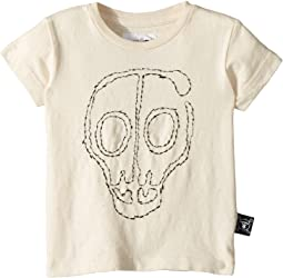 Nununu - Embroidered Skull Mask T-Shirt (Infant/Toddler/Little Kids)