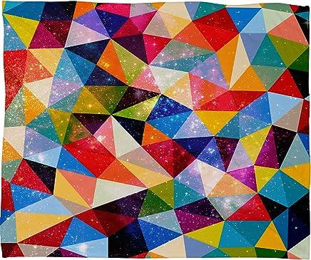 Deny Designs Fimbis Space Shapes Fleece Throw Blanket,  30 x 40