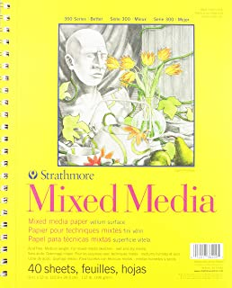 "Strathmore Mixed Media Pad 9""x12"""