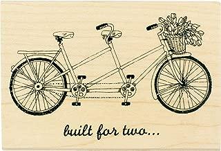Best tandem bike rubber stamp Reviews