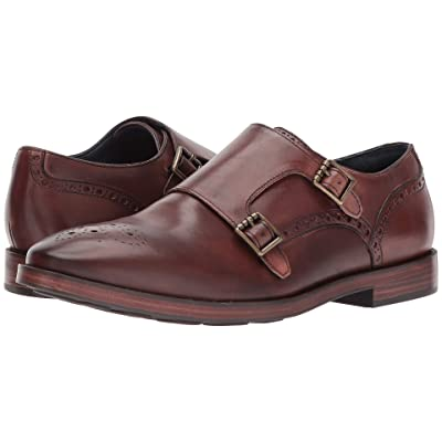 Cole Haan Hamilton Grand Double Monk (Mahogany) Men