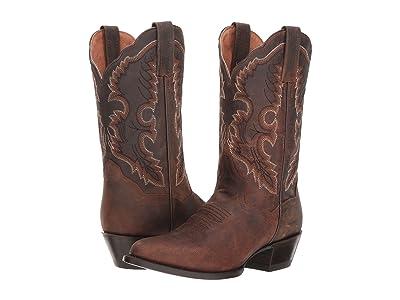 Dan Post Bev (Brown Leather) Cowboy Boots