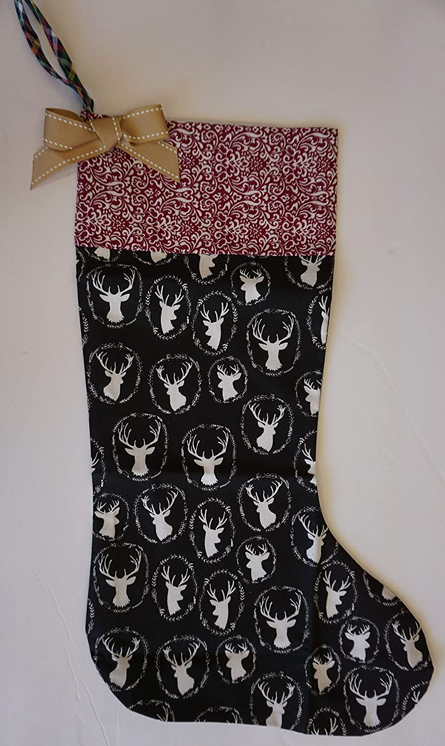 Christmas Stockings New product!! Challenge the lowest price of Japan ☆ Rustic Country Reindeer