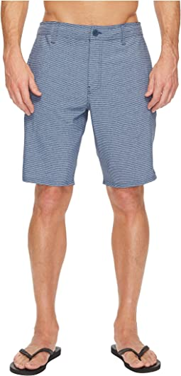 O'Neill - Locked Stripe Hybrid Boardshorts