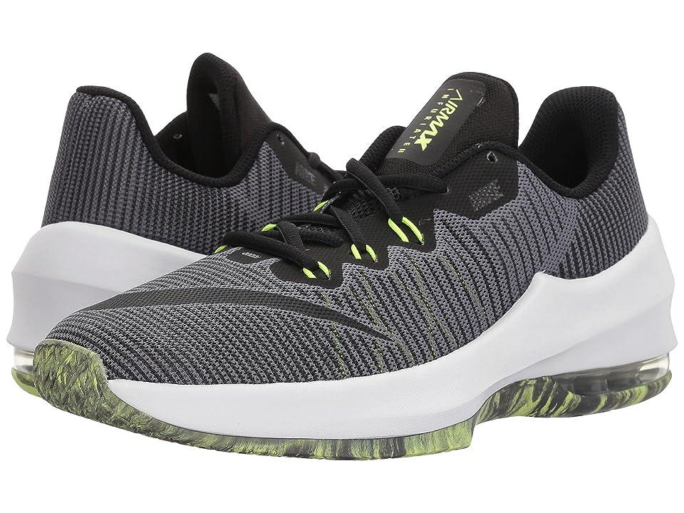 Nike Kids Air Max Infuriate II (Big Kid) (Dark Grey/Black/Volt) Boys Shoes