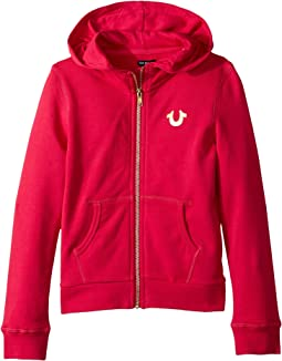 True Religion Kids - Branded Hoodie (Little Kids)