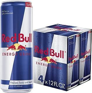 Red Bull Energy Drink 4 Pack of 12 Fl Oz