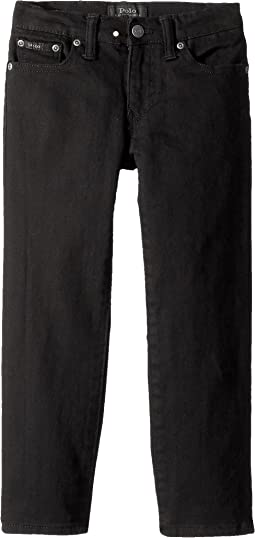 Polo Ralph Lauren Kids - Hampton Straight Stretch Jeans (Little Kids)