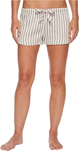 P.J. Salvage - Walk The Line Grey Striped Shorts