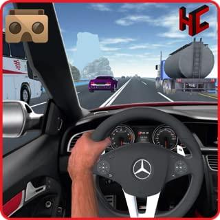 VR crazy car traffic racing