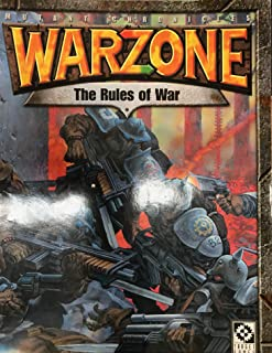 Warzone 2nd Edition: Rules of War (Mutant Chronicles)