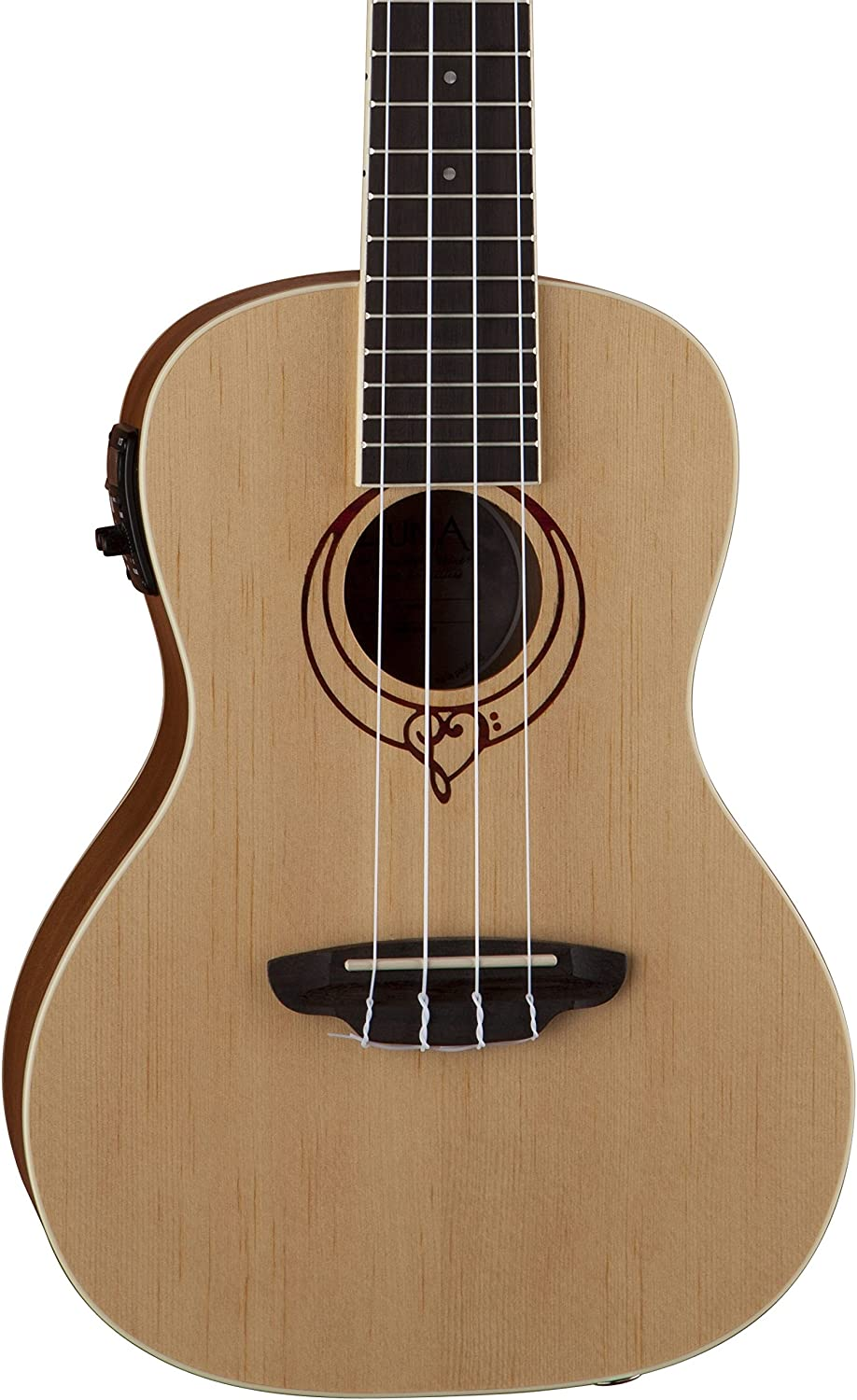 Luna Cheap Heartsong Spruce Cheap super special price Acoustic Electric Concert USB Ukulele with