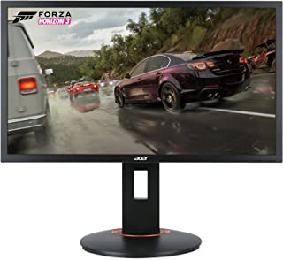 "Acer XFA240 bmjdpr 24"" Gaming G-SYNC Compatible Monitor 1920 x 1080, 144hz Refresh Rate, 1ms Response Time with Height, Pivot, Swivel & Tilt, Black"
