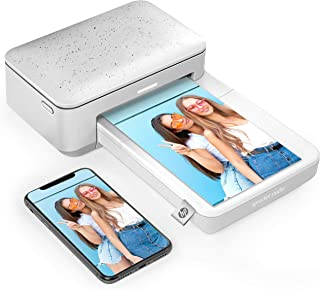 "HP Sprocket Studio Instant Photo Printer - 4x6"" Pictures from Smartphone & Social Media w/ HP App. UK Plug"