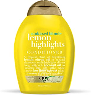 OGX Conditioner, Sunkissed Blonde Lemon Highlights, 13 Ounce