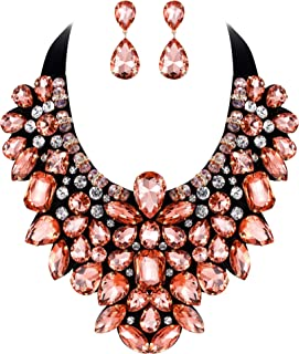 Best crystal jewellery necklace Reviews