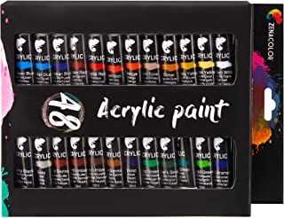 comprar comparacion Kit de 48 Tubos de Pintura Acrílica (12mL) - Pinturas Acrilicas Profesional