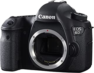 Canon EOS 6D - Cámara réflex Digital de 20.2 MP (Pantalla 3.2 vídeo Full HD GPS) Color Negro - Solo Cuerpo