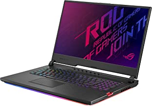 "Asus ROG Strix Hero III Gaming Laptop, 17.3"" 144Hz IPS Type Full HD, NVIDIA GeForce RTX 2070, Intel Core i7-9750H, 16GB DDR4, 512GB PCIe SSD + 1TB FireCuda, Per-Key RGB KB, Windows 10, G731GW-DB76"