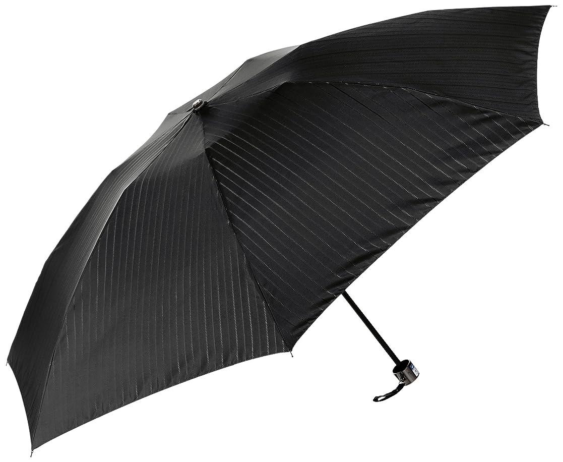 凝視毛皮幻滅する(ムーンバット)MOONBAT(ムーンバット) マキシムラベリ 紳士折りたたみ傘 ジャカードストライプ 日本生地使用
