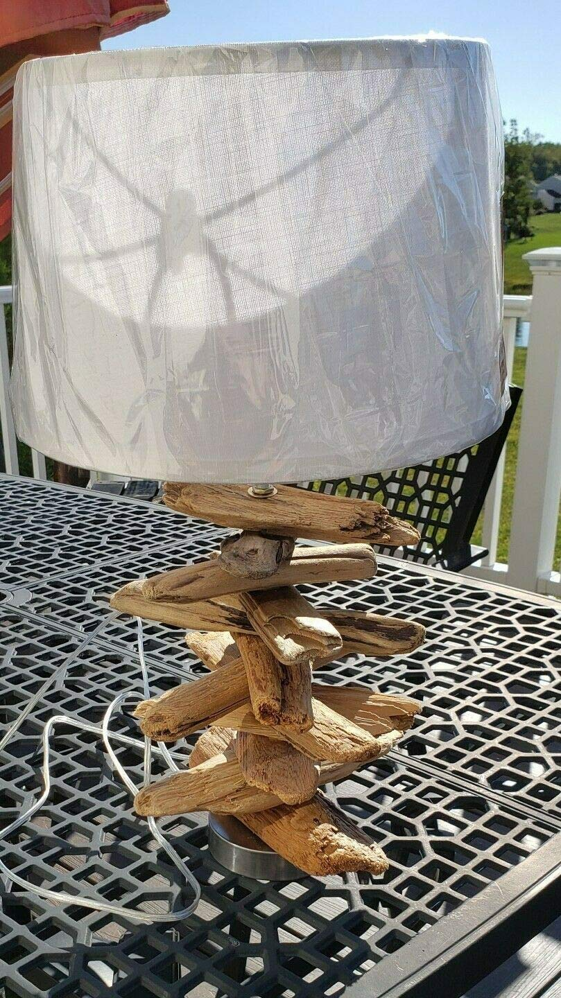 Driftwood Table Lamp Custom New Orleans Mall 25% OFF made Handcrafted