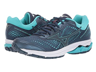 Mizuno Wave Rider 22 (Blue Wing Teal) Women