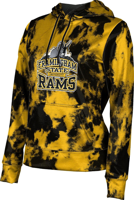 ProSphere Framingham State University Girls' Pullover Hoodie, School Spirit Sweatshirt (Grunge)