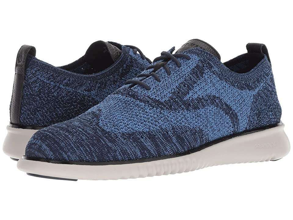 Cole Haan 2.Zerogrand Stitchlite Oxford (Marine Blue/Riverside/Black/Vapor Grey) Men