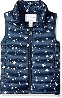 Amazon Essentials Girls' Lightweight Water-Resistant Packable Puffer Vest