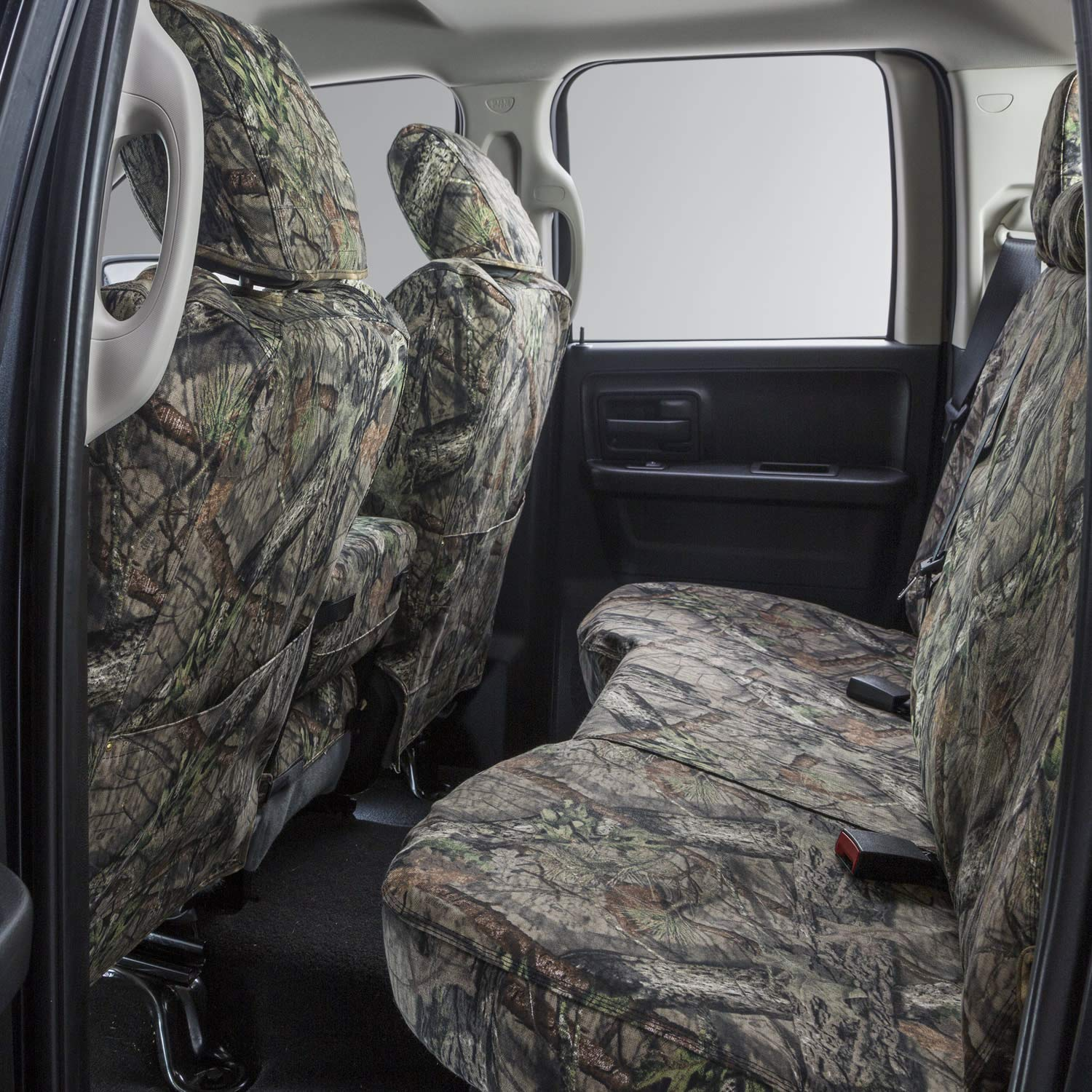 Covercraft Carhartt Mossy Oak Camo SeatSaver Second Row Custom Fit Seat Cover for Select Ford F-250 Super Duty//F-350 Super Duty Models SSC7337CAMB Break-Up Country Duck Weave