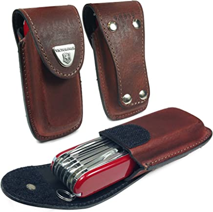 0b75a8dfe1 TUFF LUV Personalised Genuine Leather Case Pouch   Sheath Holder for  Victorinox Swiss Army