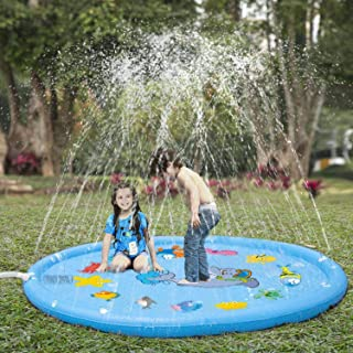 Sprinkler for Kids, Sprinkler Pad & Splash Play Mat 68