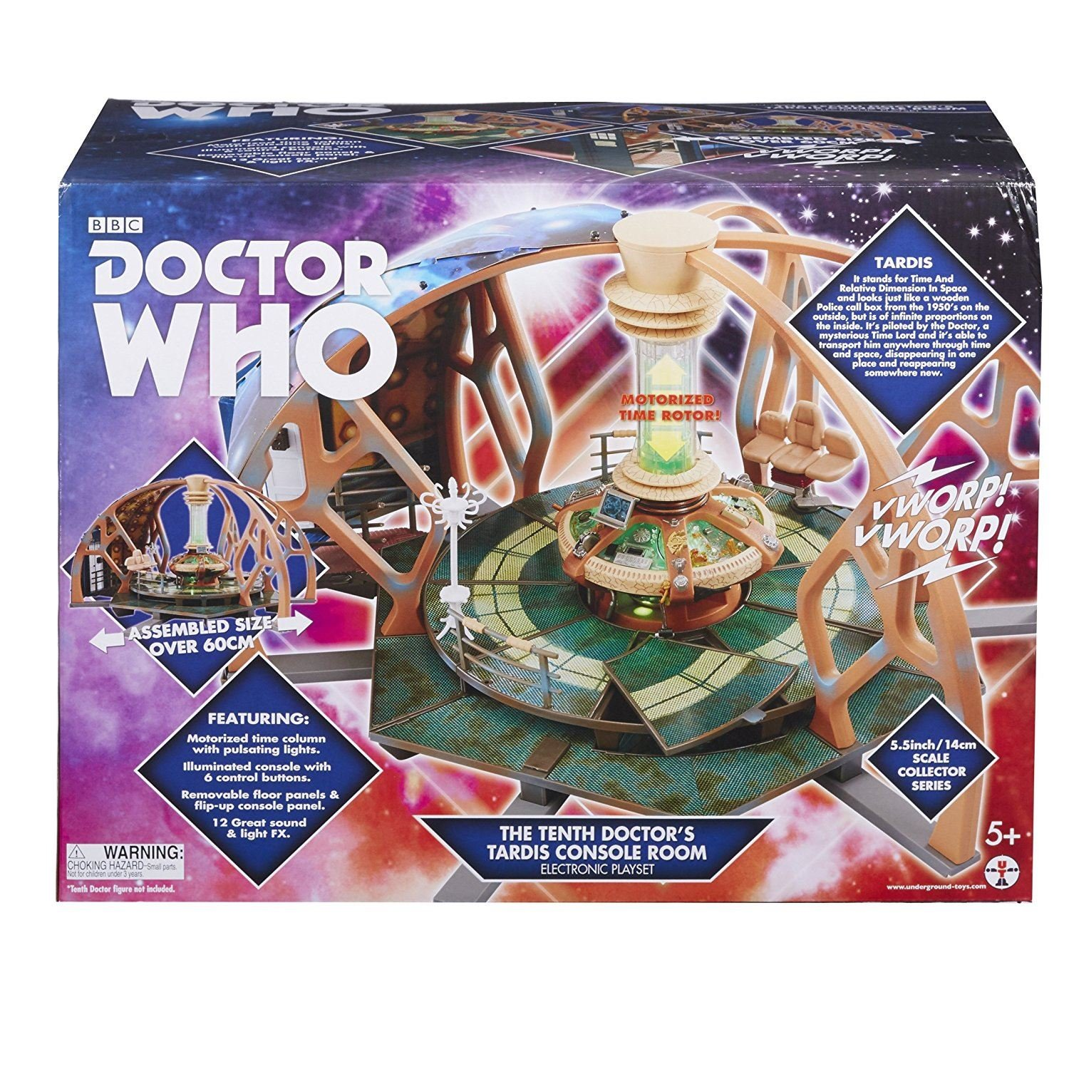 gaixample.org DOCTOR WHO 06294 10th Electronic Tardis Playset Toys ...