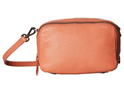 ECCO SP 3 Medium Boxy (Apricot) Wristlet Handbags