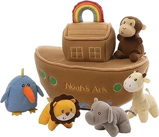 "GUND Baby Noah's Ark Playset Stuffed Plush, 6 pieces, 11"""
