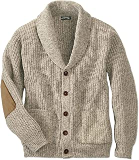 Men's Wool-Blend Shawl Cardigan Sweater