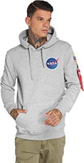 Alpha Industries Space Shuttle Hoodie Grau L