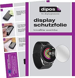 dipos I 6X Protector de Pantalla Compatible con Umidigi Uwatch pelicula Protectora Claro