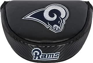 NFL Black Mallet Putter Cover, Los Angeles Rams