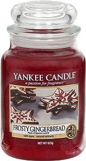 Yankee Candle vela aromática en tarro grande, galleta de jengibre