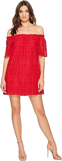 BB Dakota - Erica Lace Off the Shoulder Dress