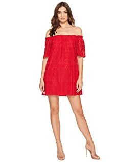 Erica Lace Off the Shoulder Dress