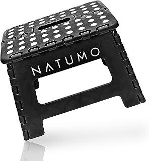 NATUMO® Tabouret pliable, aide à la montée, repose pieds, pour jardin, cuisine, salle de bain,150kg, pliable, pour enfant...