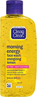 Clean & Clear Morning Energy Lemon Face Wash, 100ml