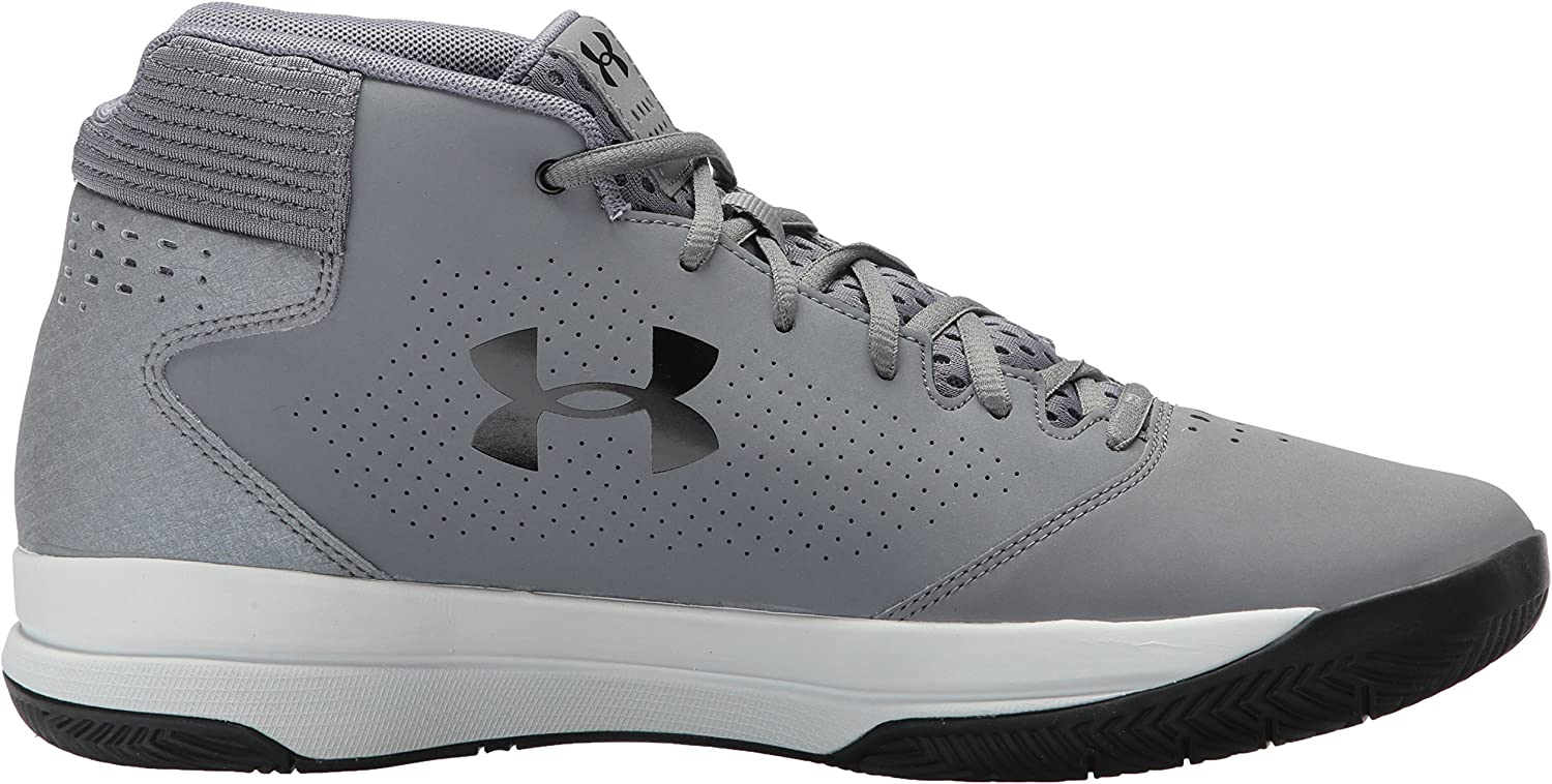 Under Armour Mens Jet Mid Basketball Shoe