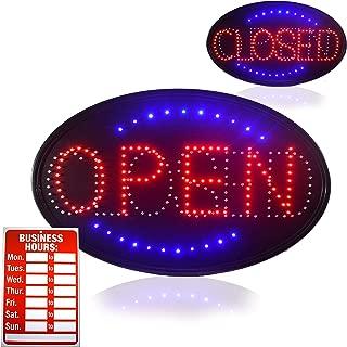 OPEN LED SIGN, Jumbo 23