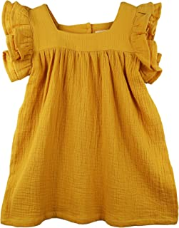 mustard yellow dress toddler